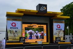 Le Tour screen Royalty Free Stock Images