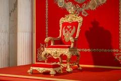 Le trône impérial grand photo stock