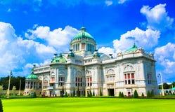 Le trône Hall, Thaïlande d'Ananta Samakhom Photo libre de droits