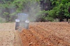 Le tracteur Photographie stock libre de droits