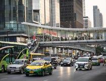 Le trafic à Bangkok photos libres de droits