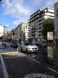 Le trafic à Bruxelles Images stock