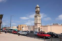 Le trafic à Casablanca, Maroc photo libre de droits