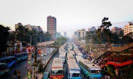 Le trafic Image libre de droits