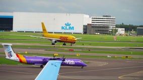 Le trafic d'aéroport de Shiphol clips vidéos
