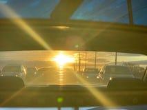Le trafic d'après-midi photo stock
