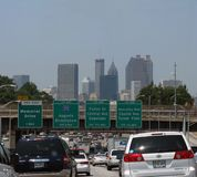 Le trafic d'Atlanta Photos stock