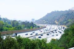 Le trafic d'autoroute images libres de droits