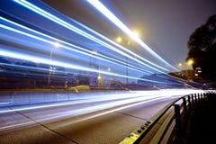 Le trafic dans la ville photo libre de droits