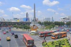 Le trafic de la Thaïlande Bangkok Photos stock