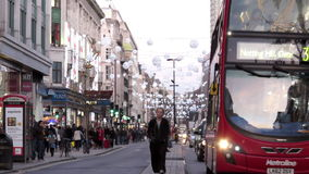 Le trafic de Londres banque de vidéos