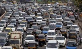 Le trafic de Mumbai Photo libre de droits