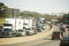 Le trafic de route Images libres de droits