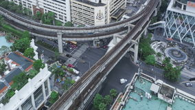 Le trafic de Timelapse Bangkok clips vidéos
