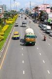 Le trafic de véhicule de Pattaya Image stock