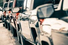 Le trafic de voitures Images stock