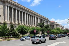 Le trafic de Washington DC Photos libres de droits