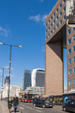 Le trafic et personnes de pont de Londres Photos libres de droits