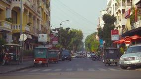 Le trafic normal de rue clips vidéos
