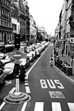 Le trafic Paris Photographie stock
