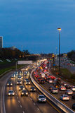Le trafic sur Gardiner Express Image stock
