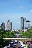 Le trafic sur la route à Bangkok Thaïlande Photographie stock libre de droits