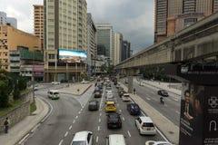Le trafic sur la rue Image libre de droits