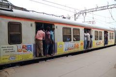 Le train à Bombay Image libre de droits