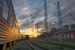 Le train Photos libres de droits