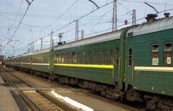 Le train Photos stock