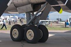 Le train d'atterrissage Photo libre de droits