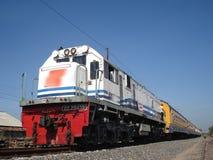 Le train de Blora Jaya Ekspres photographie stock