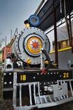Le train de REINE de l'HÉRITAGE PURULIA, construit à Paris, en 1948, a commissionné en 1953 en Inde image stock