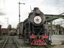 Le train de vapeur de la révolution Photographie stock
