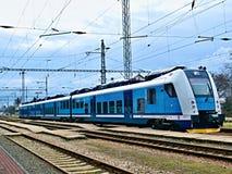 Le train de voyageurs Image libre de droits