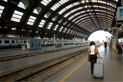 le train de voyageurs Images stock