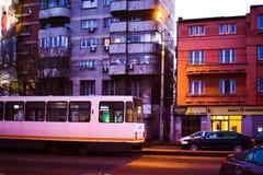 Le tram Photos libres de droits