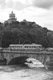 Le tramway de Turin photos libres de droits