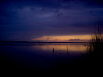 Le tranquille avant la tempête Images libres de droits