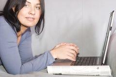 le travail à domicile Image libre de droits