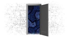 Le travail des systèmes de systèmes informatiques illustration libre de droits