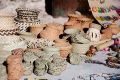 Le travail manuel de Tarahumara mexico Photographie stock