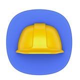 Le travail usine l'icône Image stock