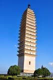 Una delle tre pagode Fotografia Stock