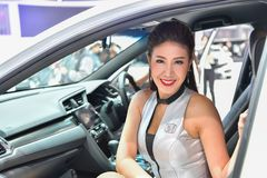 Le trente-huitième Salon de l'Automobile international de Bangkok Thaïlande 2017 Photos libres de droits