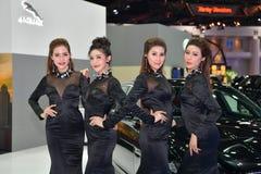 Le trente-huitième Salon de l'Automobile international de Bangkok Thaïlande 2017 Images libres de droits