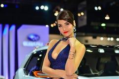 Le trente-septième Salon de l'Automobile international de Bangkok Thaïlande 2016 Photographie stock libre de droits