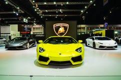 Le trente-septième Salon de l'Automobile international de Bangkok Thaïlande 2016 Images stock