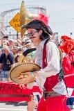 Le trente-sixième défilé annuel de sirène Images libres de droits