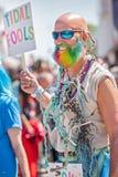 Le trente-sixième défilé annuel de sirène Photo libre de droits